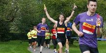 DHL stafetten 2012, tirsdag: Løberne