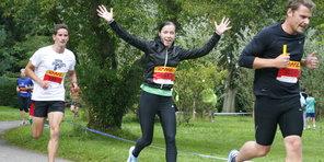 DHL stafetten 2012, torsdag: Løberne