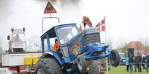 Traktortræk i Boulstrup