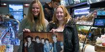 'One Direction' i 7-Eleven på Immervad