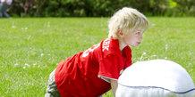 Aktivitet for børn tema pudekamp