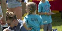 Fri for mobberi børnestafetten
