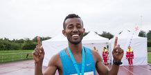 Aarhus Halvmarathon 2016 Start/Mål