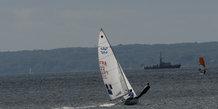 Hempel sailing world championships Egå, Test event