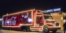 Den ikoniske Julelastbil kom til Lystrup