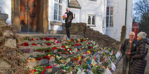Blomster ved Marselisborg slot