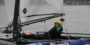Hempel World Sailing Championships medal race NACRA 17