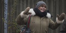 Byvandring med en hjemløs -Betty