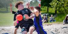 Beach Handball Cup 2019 i Skæring
