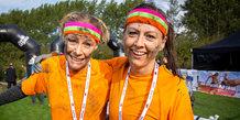 Ladies Mud Race, start/mål område