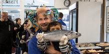 Fisk i børnehøjde