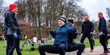 Lørdagstræning i Mindeparken med Coach Mølvad