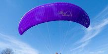 Paragliding ved Hotel Marselis