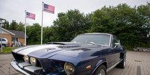 Amerikanerbiler ved Classic Mustang