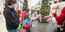 Julemanden i Viby Centret